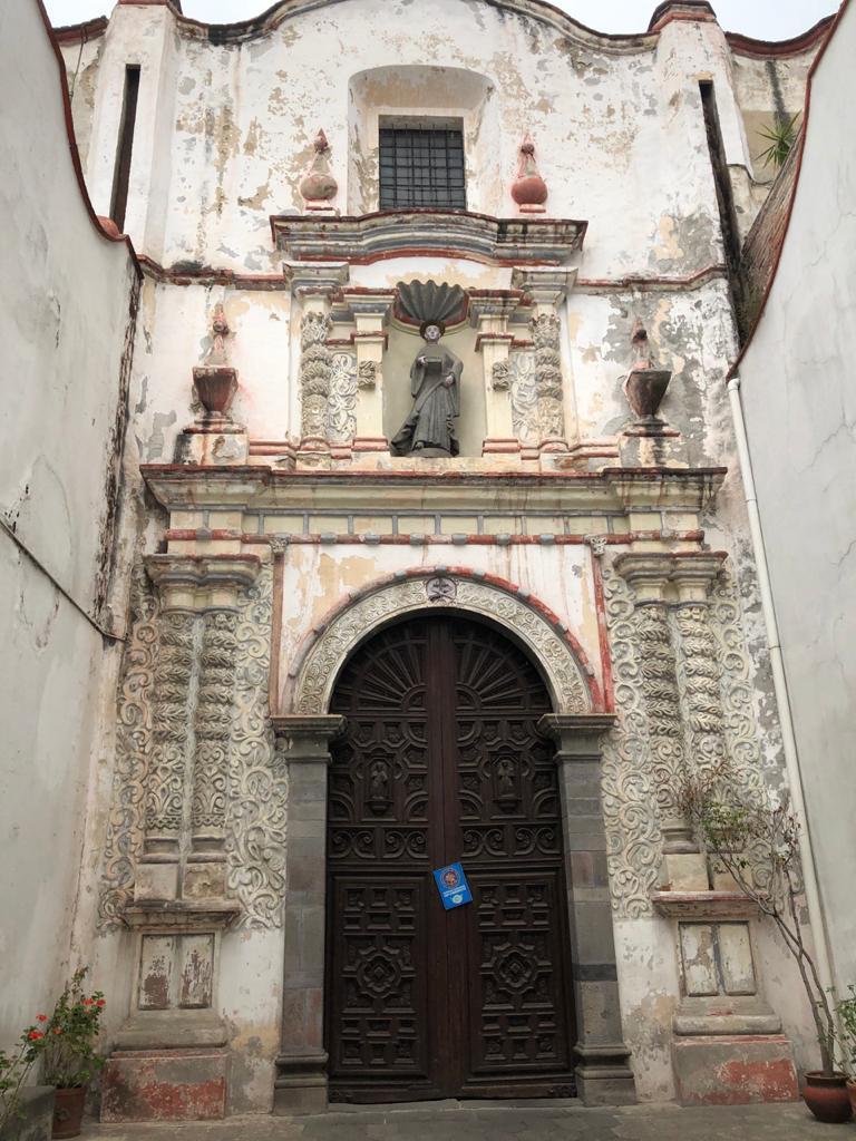 Iglesias del Edomex semáforo amarillo