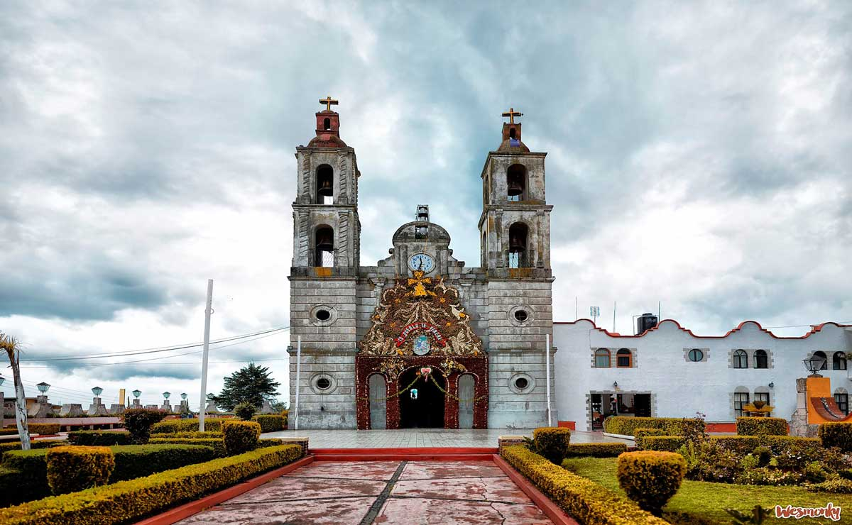 Edomex Turismo, parroquia de Santiago Apostol en el municipio de Isidro Fabela.