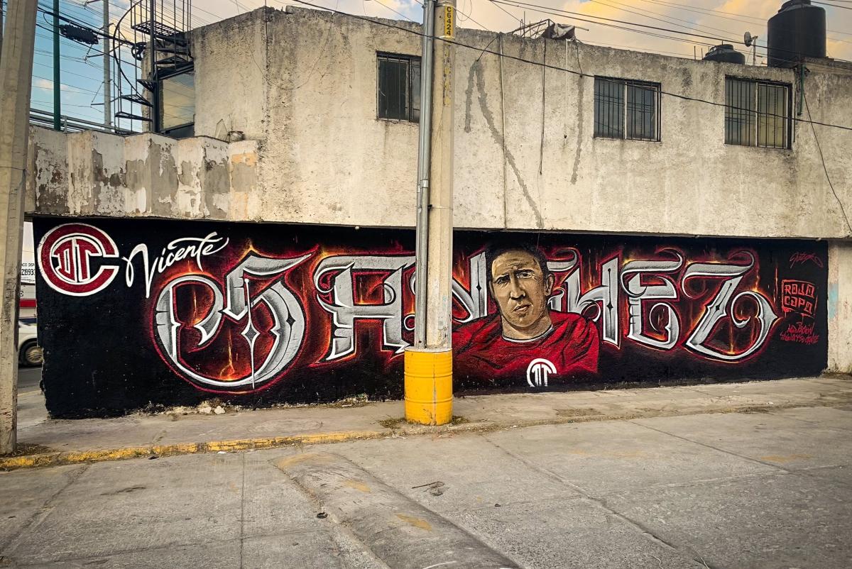 En la calles de Toluca se ven varios murales
