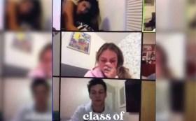 Estudiante olvida apagar su camara en clase virtual y todos sus compañeros la ven teniendo relaciones