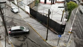 Fuerte granizada azoto y sorprendio a la capital mexiquense