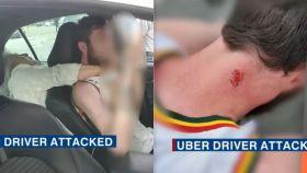 Mujer en Florida es grabada atacando y mordiendo a un conductor de Uber