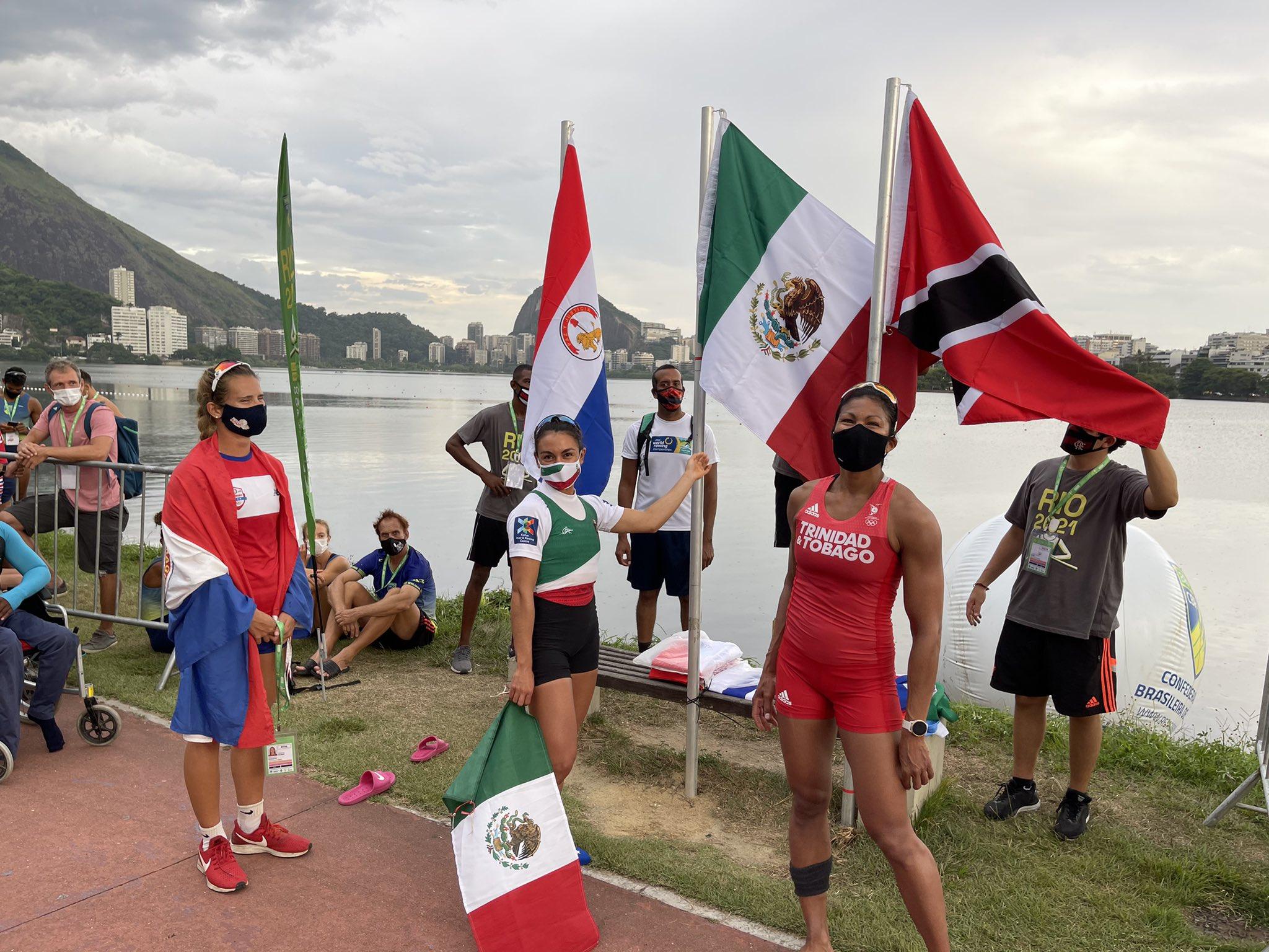 Kenia Lechuga logro su clasificación a los juegos olímpicos