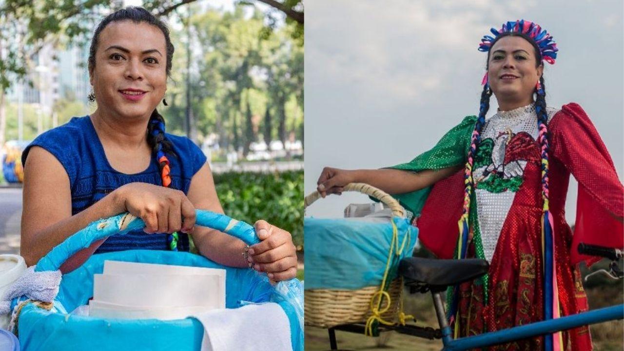 Lady tacos de canasta competirá por una diputación local el próximo 6 de junio por la alcaldía Coyoacán de la CDMX