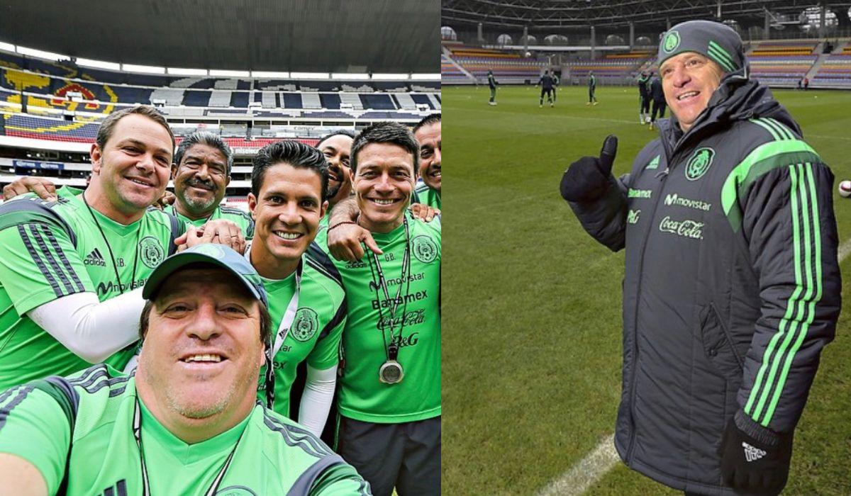 Miguel Herrera en su paso como DT de la selección mexicana