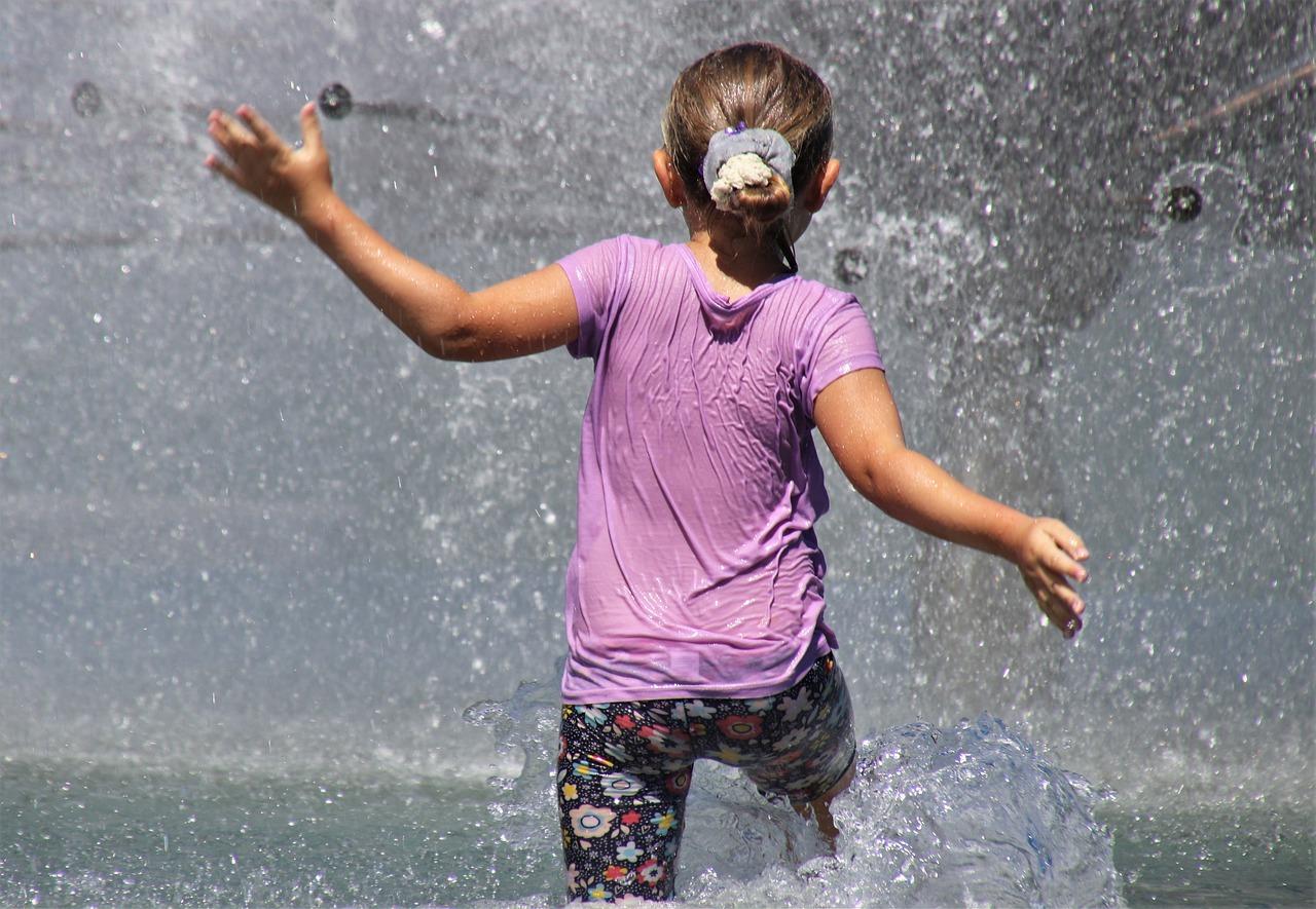 La tradición de mojarse en semana santa