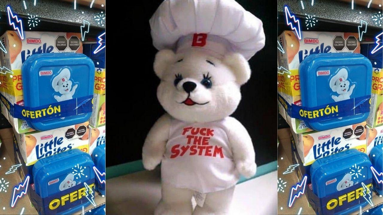 Osito Bimbo lo vuelve a hacer y ahora aparece su imagen en una sandwichera que viene de regalo en la compra de un paquete de Little Bites