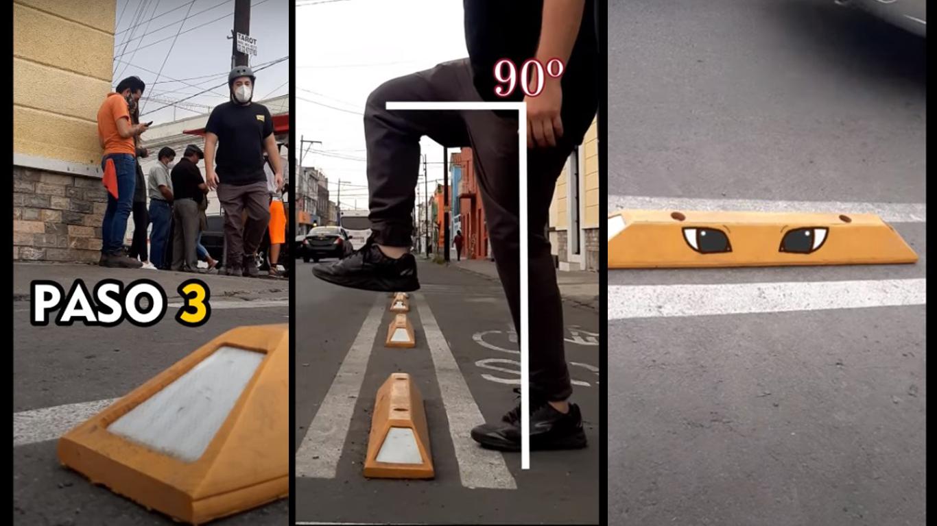 Sigue estos pasos para no caer en la ciclovía (VIDEO)