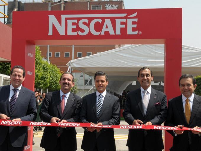 Inauguración de la fabrica de Toluca