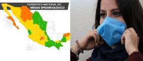 Nuevo León y Oaxaca pasaron a formar parte de las entidades mexicanas en color verde dentro del semáforo epidemiológico