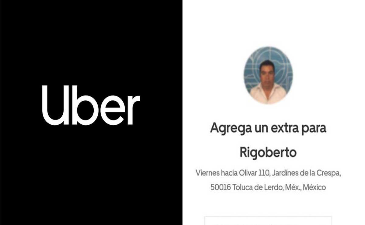Toluca buscan conductor de Uber que robó a un usuario.