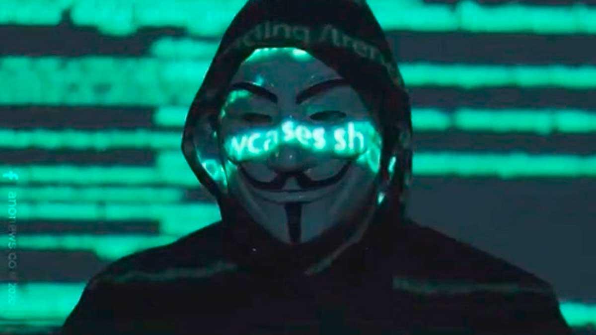 Anonymous México volvio a publicar un video y busca venganza por lo ocurrido en la línea 12 del metro