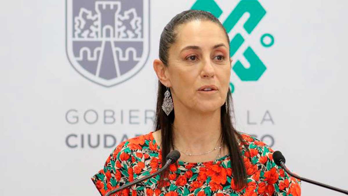 La jefa de gobierno Claudia Sheinbaum prevé semaoro verde para la CDMX para el mes de junio