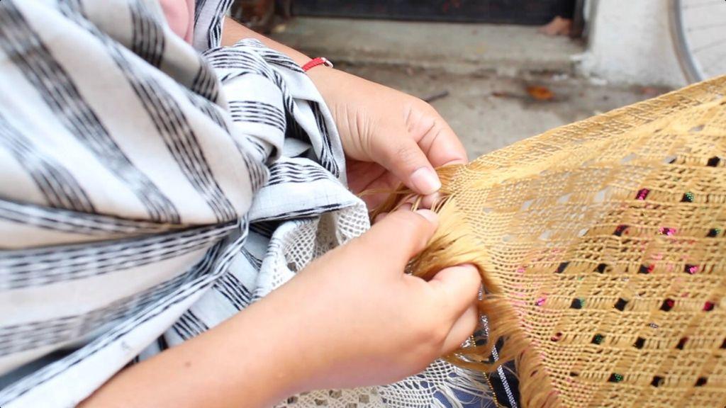 Destaca Tenancingo como municipio emblemático en la elaboración de rebozo