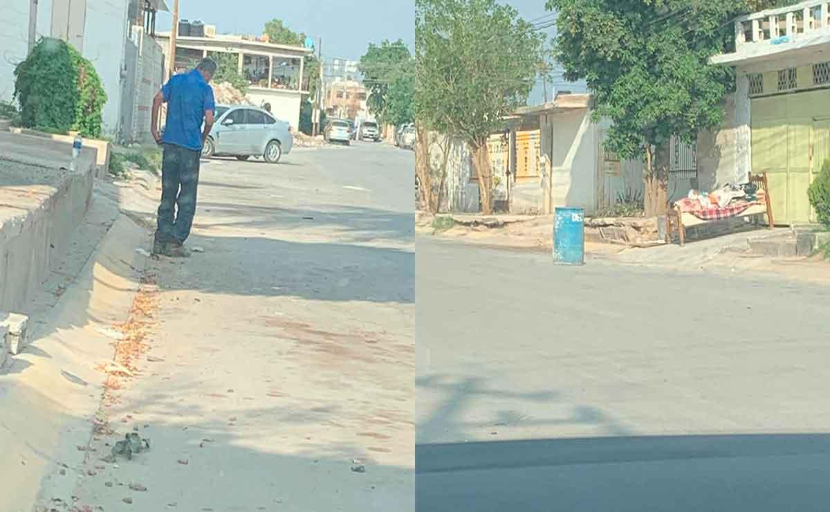 Abuelito es echado a la calle por sus hijastros.