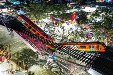 accidente de la linea 12 del metro tuve victimas mortales