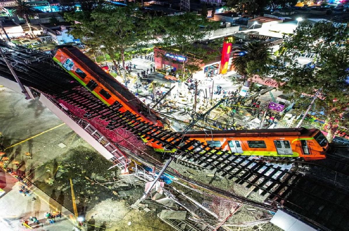 Accidente de la línea 12 del metro de la CDMX dejó victimas mortales
