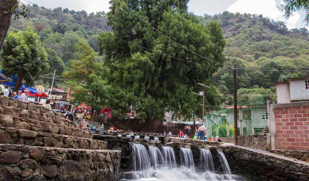 El Ahuehuete de Chalma, un lugar lleno de historia y tradición