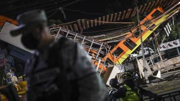 Así fue el colapso de la línea 12 del metro de la CDMX