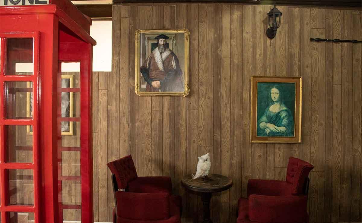 Cafetería de Toluca: Un lugar para los amantes de Londres.