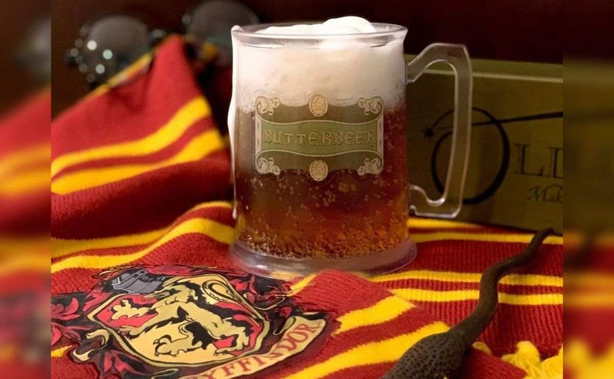 La cerveza de mantequilla es una bebida muy famosa en el mundo de Harry Potter
