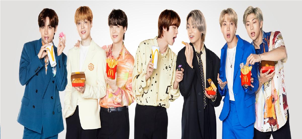 BTS Meel llega hoy a McDonald's