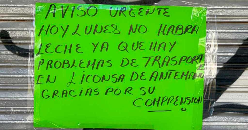 desabasto de leche en ecatepec por falta de transporte