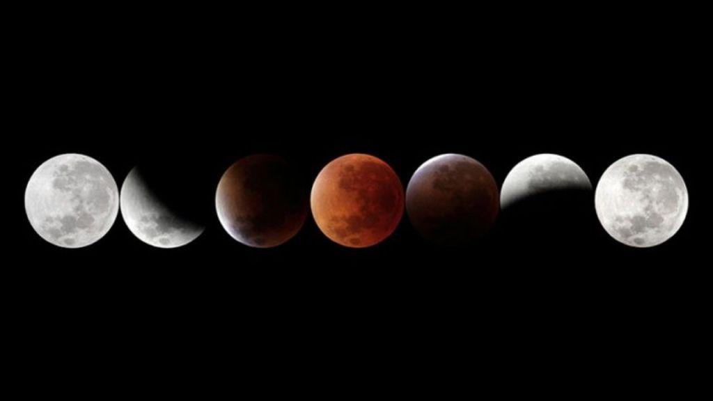 se recomienda estar en un lugar con cielo despejado para apreciar de mejor forma el eclipse total de Luna de Sangre.