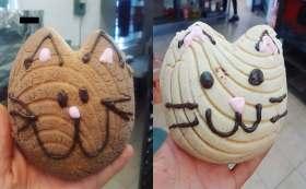 Si eres amante de los gatos, prueba las michi conchas.
