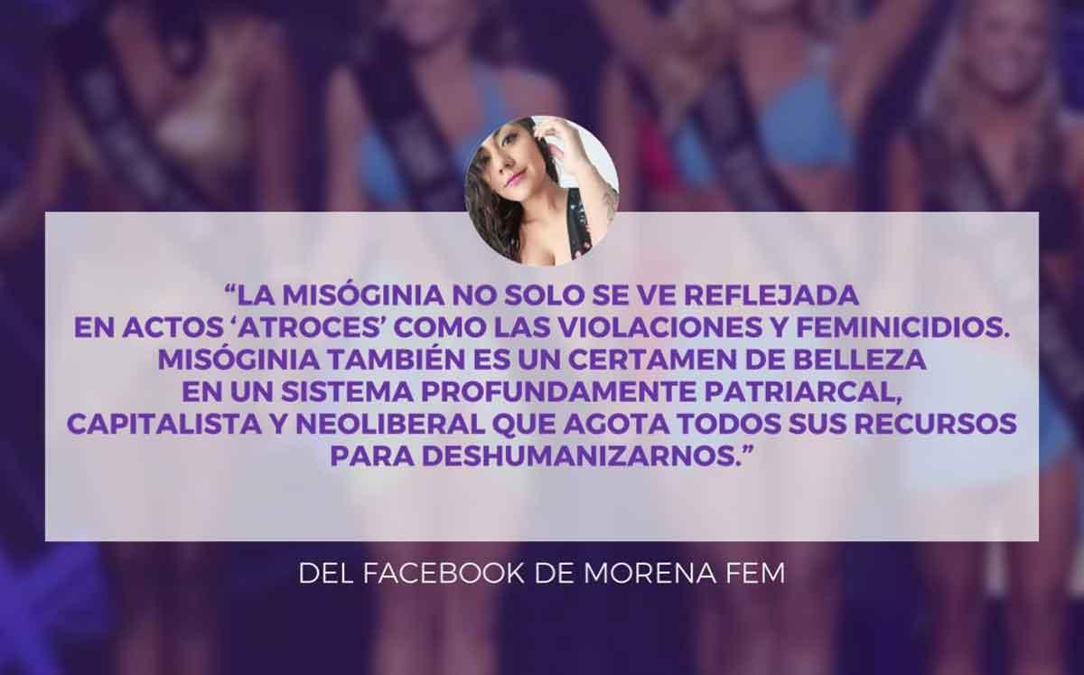 Feministas piden no celebrar triunfo de Miss Mundo.