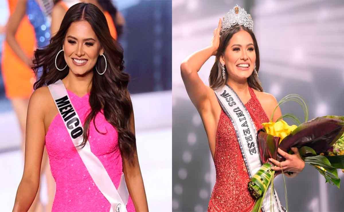 Feministas piden no celebrar triunfo de Andrea Meza Miss Universo 2021