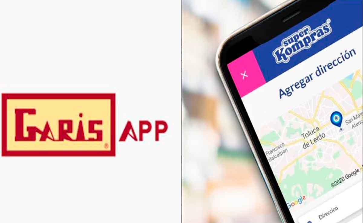 Garis y Super Kompras lanzan app.