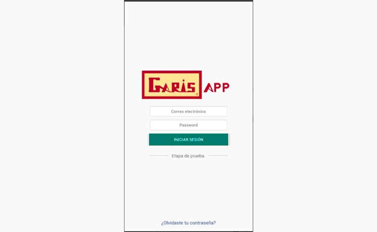 Garis lanza app móvil para compra en línea.