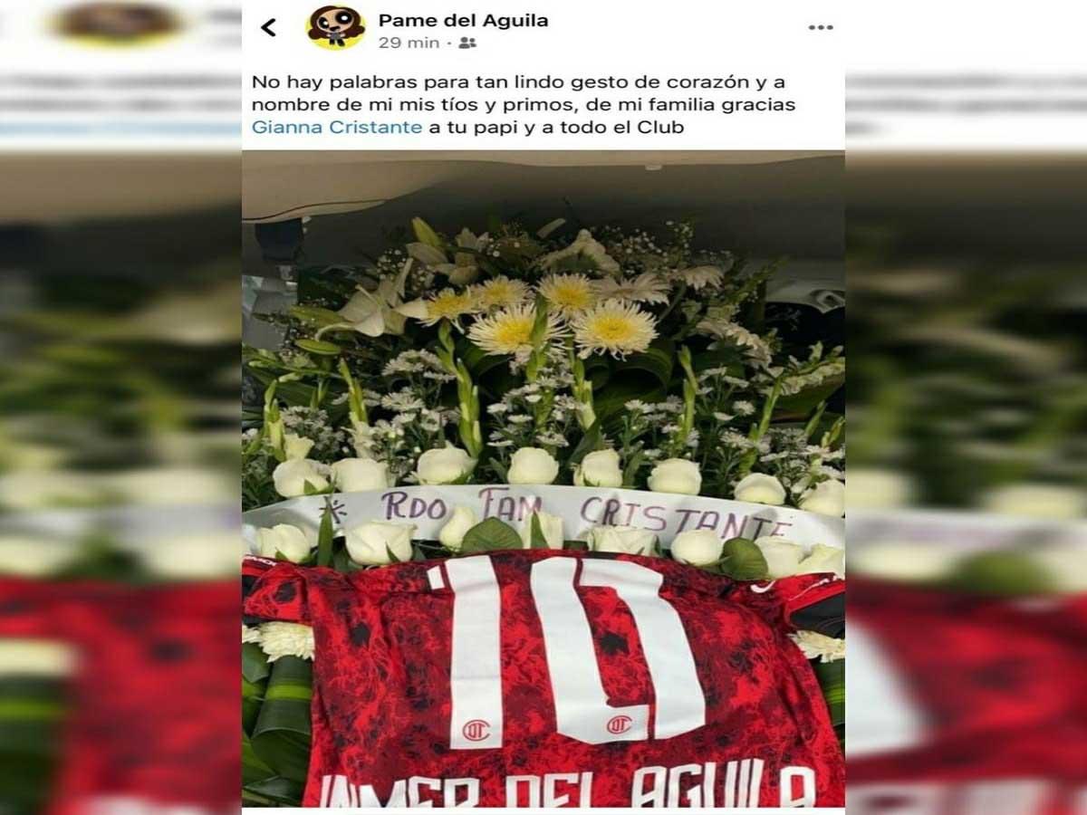 Gran gesto de Hernán Cristante con una de las víctimas por el accidente de la línea 12
