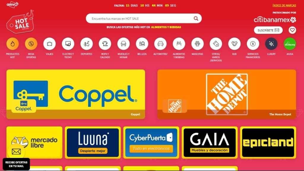 Hot Sale 2021 dará inicio del 23 al 31 de mayo en México, donde varios sitios de internet contarán con precios muy bajos para incentivar al comercio electrónico