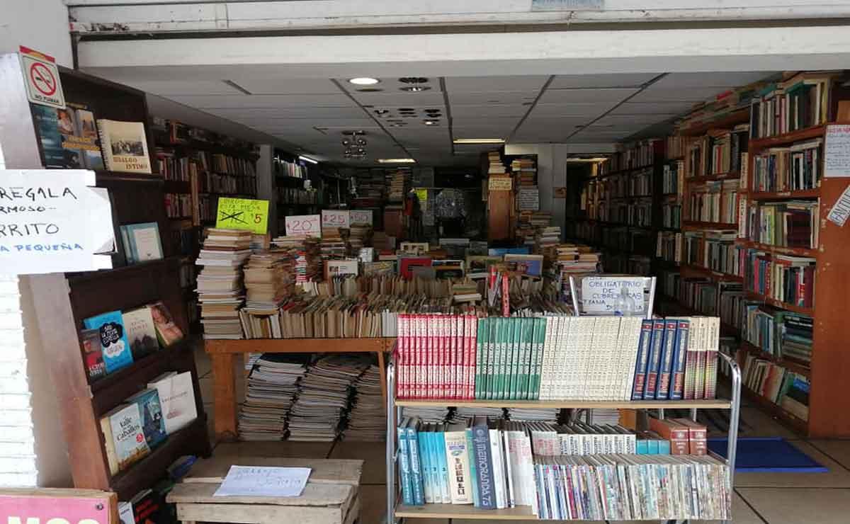 Librería de Toluca a punto de cerrar por falta de lectores.