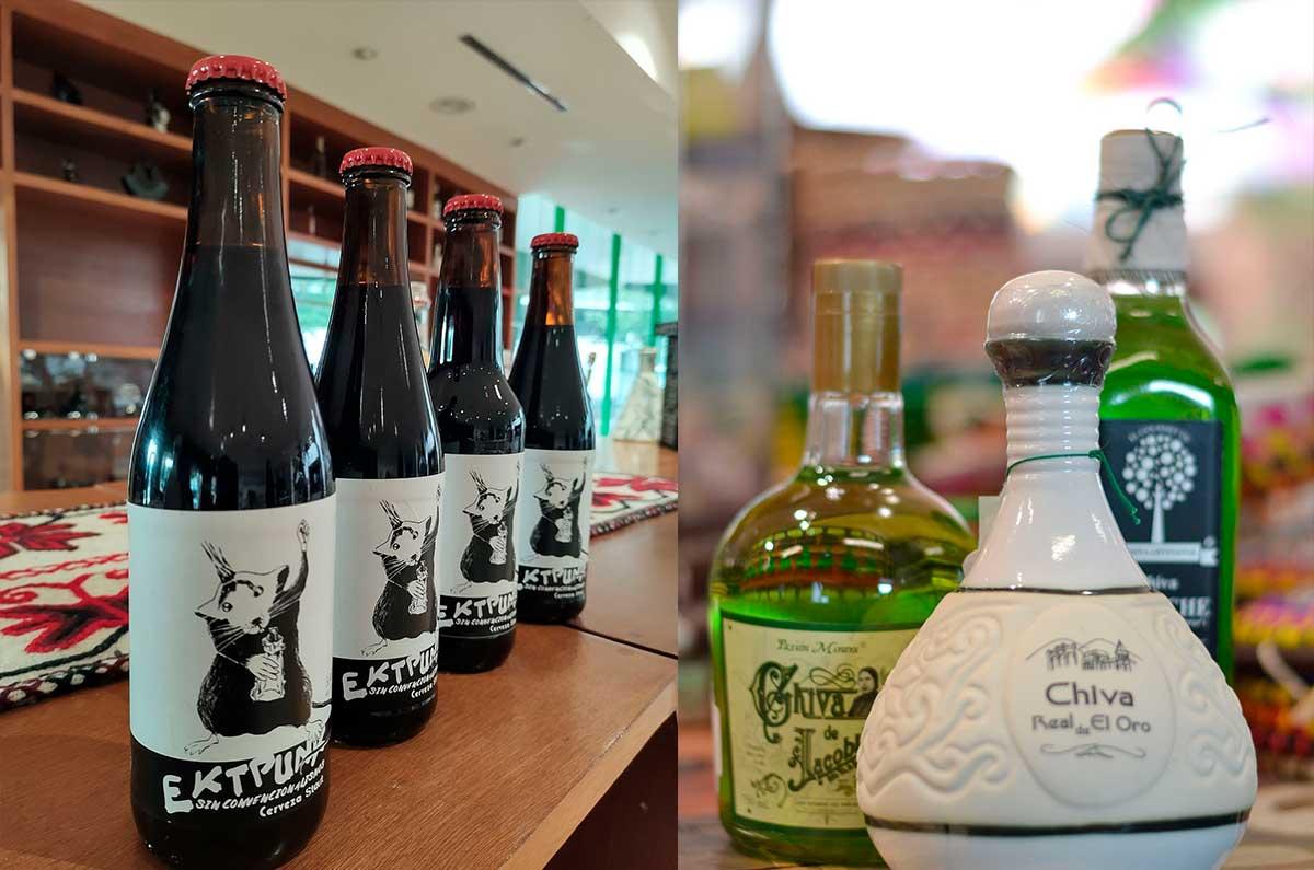 La chiva es una bebida que se produce en el norte del EdoMéx en el municipio del Oro