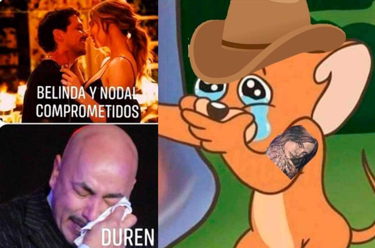 Lupillo Rivera el blanco de memes despues de darse a conocer el compromiso de Beli y Nodal