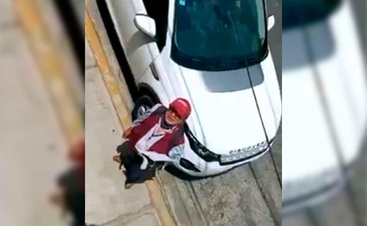 Un brigadista de Morena fue humillado por un ciudadano