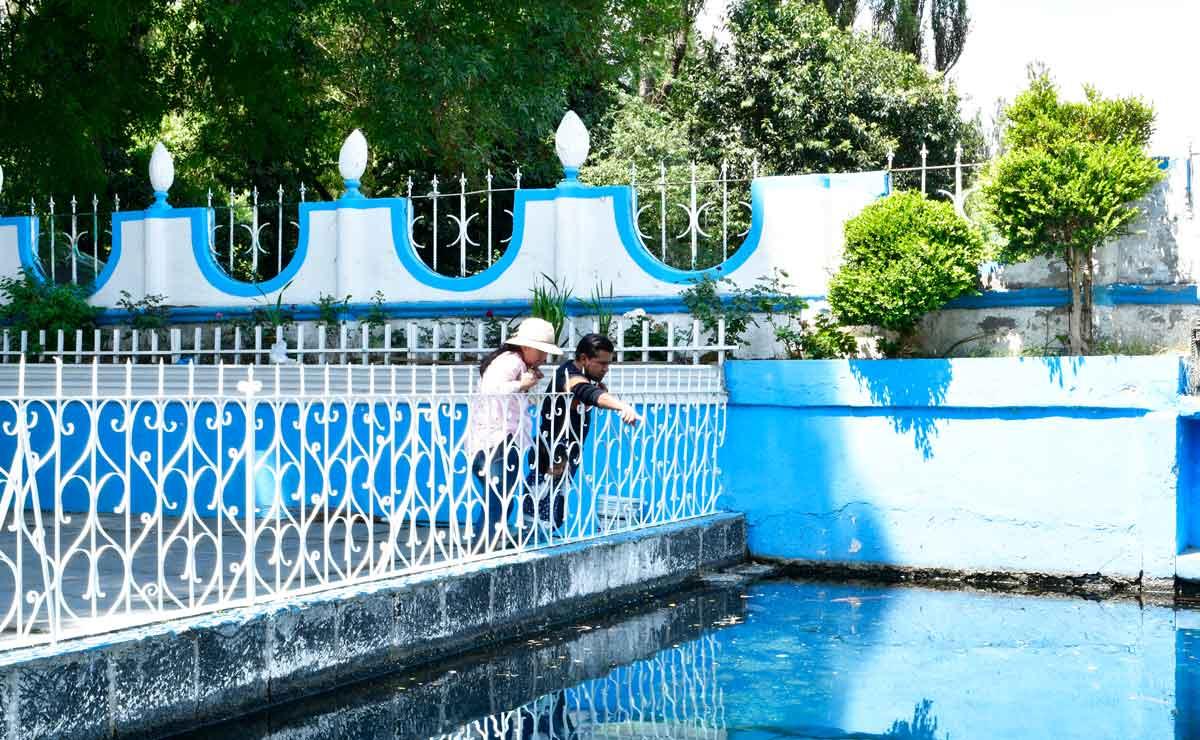 Ojo de agua, un lugar mágico en Almoloya de Juárez en Edomex.