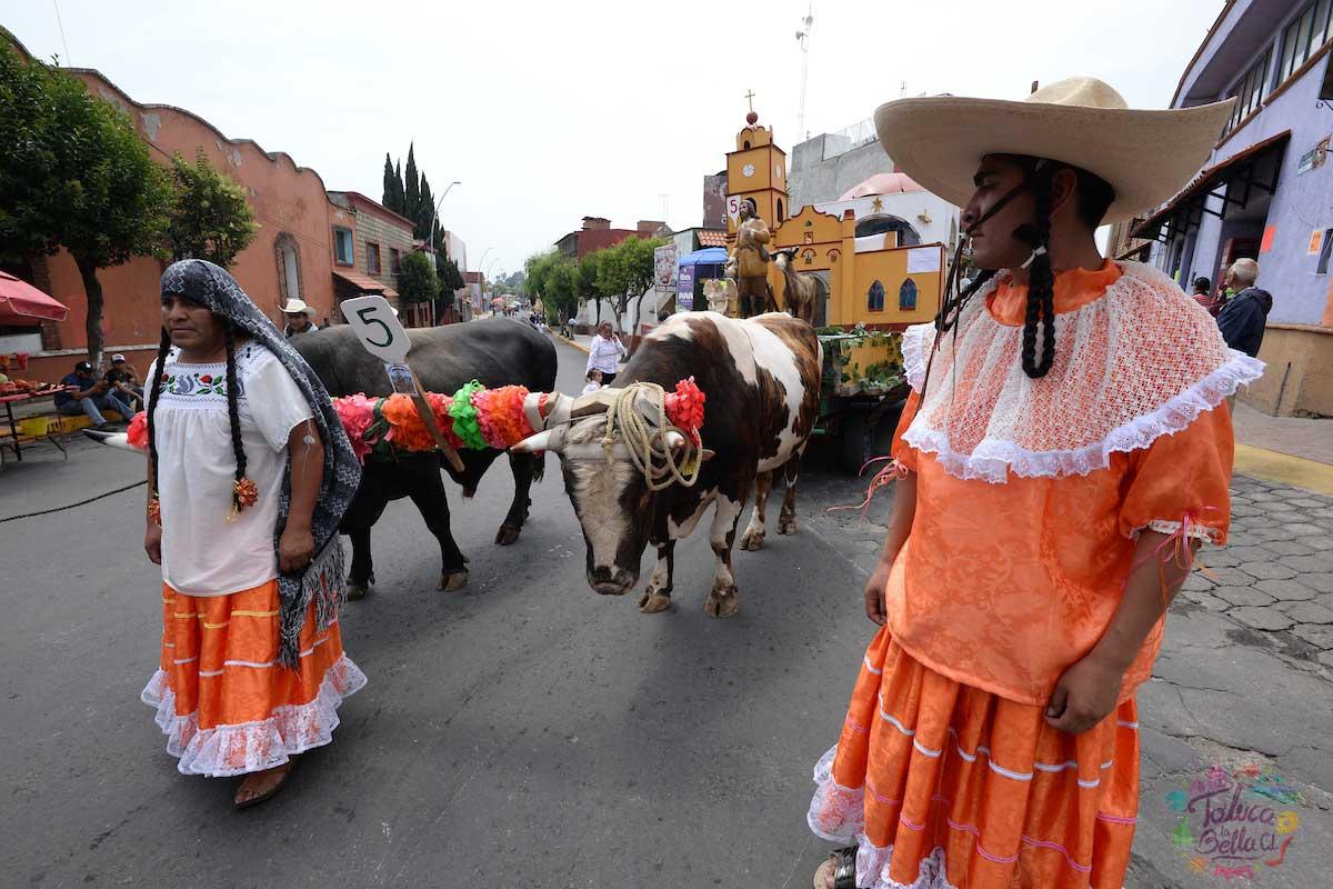 Las personas le piden al Santo patrono de San Isidro por tener una temporada de buenas cosechas