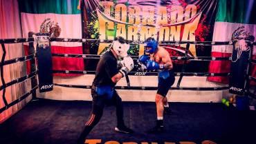 """El boxeador mexiquense Rafael """"Tornado"""" Carmona ha crcido a pasos agigantados en este deporte"""