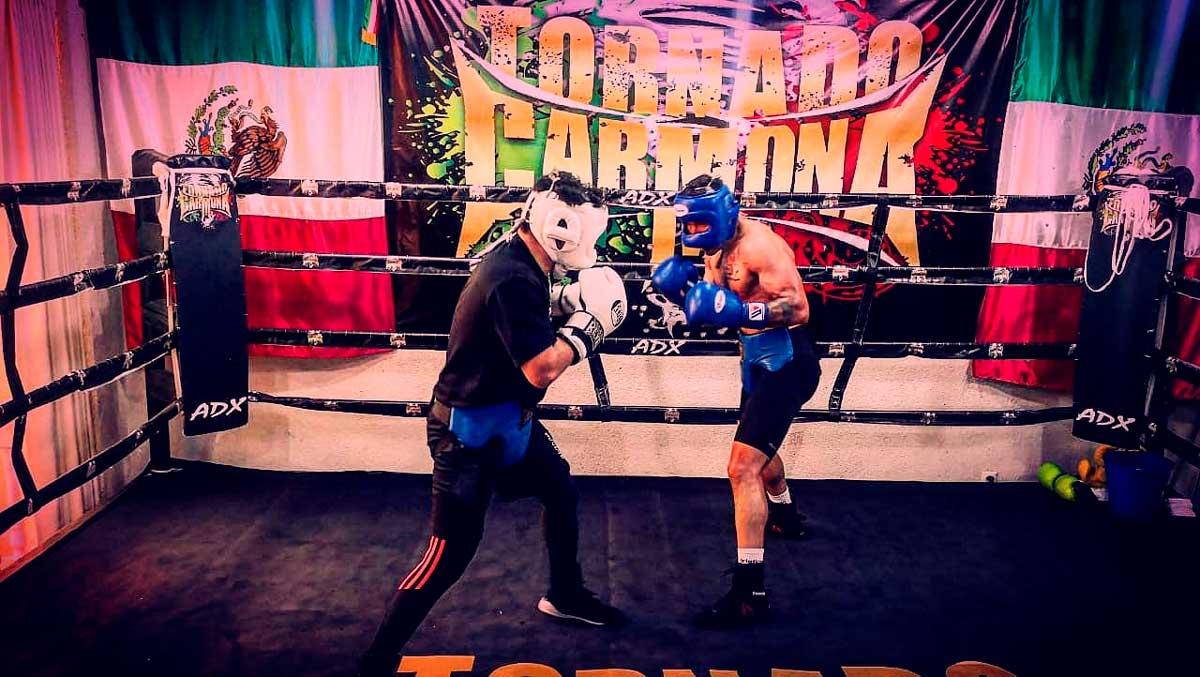 """Rafael """"Tornado"""" Carmona el boxeador mexiquense que crece a pasos agigantados"""