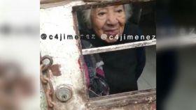 Una abuelita fue rescatada por elementos de la Secretaría de Seguridad Ciudadana de la CDMX por estar encerrada en un cuarto de azotea