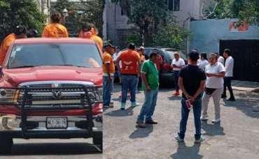 militantes de movimiento ciudadano golpean a brigadista embarazada de Morena y pierde a su bebé