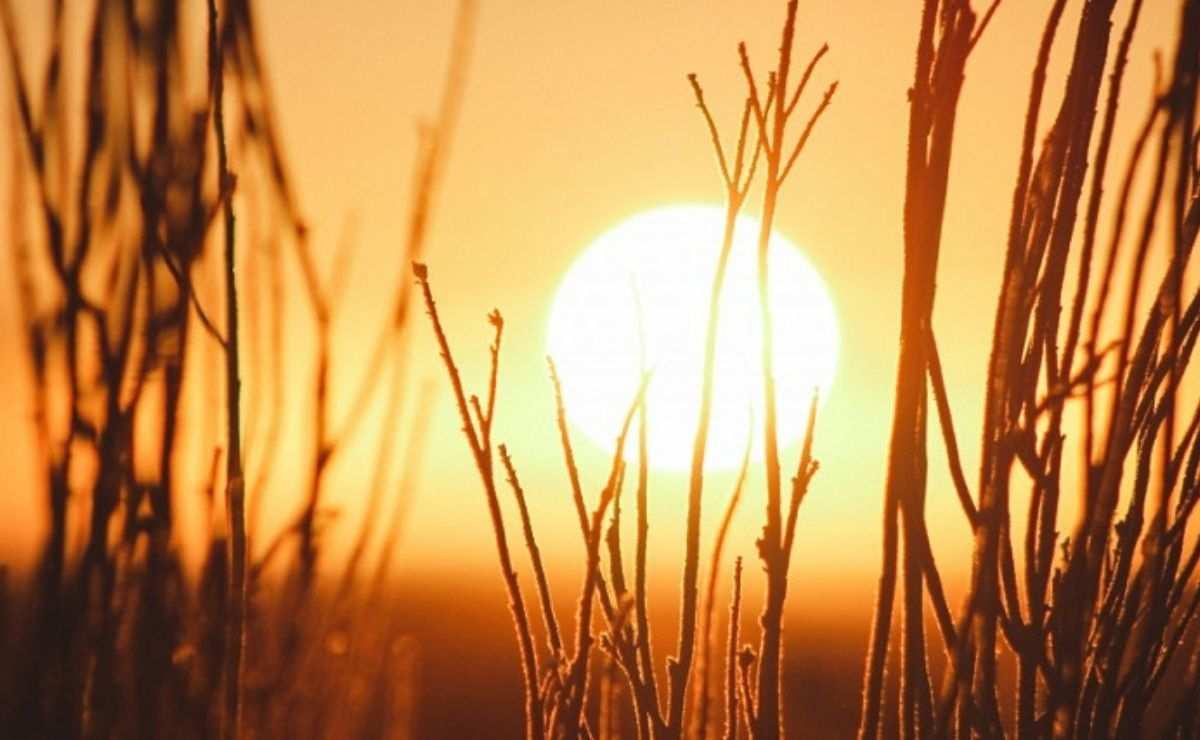 El solsticio de verano ocurre cuando debido a una inclinación del globo terráqueo, provocando que cantidades diferentes de luz solar alcancen diferentes regiones del planeta durante la órbita de la Tierra al Sol