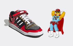 Adidas lanzará al mercado unos tenis inspirados en la cerveza Duff de los Simpson