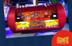 Chanfle y Recontrachanfle restaurante inspirado en los personajes del señor Chespirito