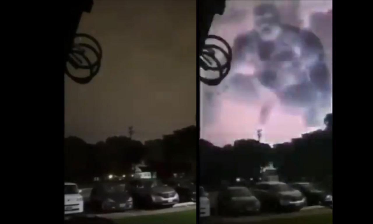 Tláloc, tormenta eléctrica en la CDMX