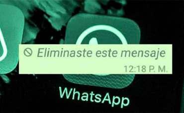 WhatsApp trucos para recuperar mensajes eliminados.